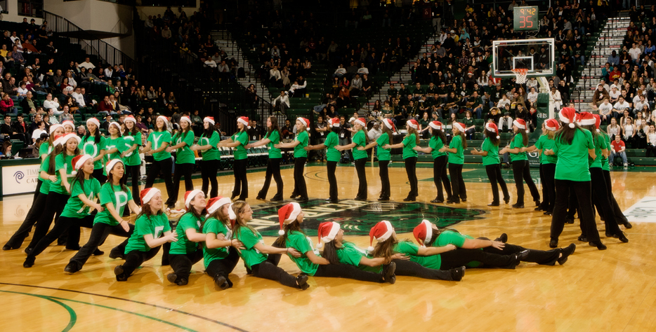 Holiday Greetings from the BU Kickline - Daily Photo ...