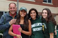 Happy family at move in