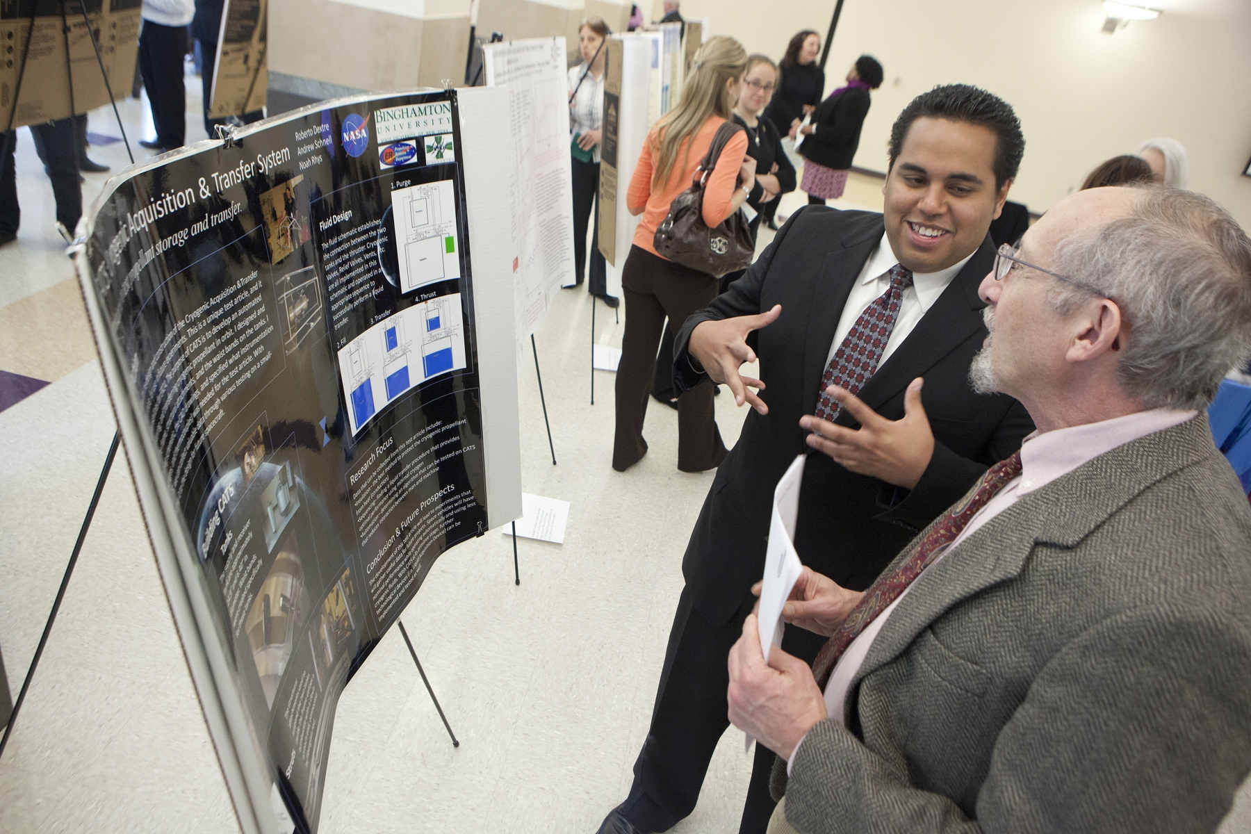 Faculty, students address power of research