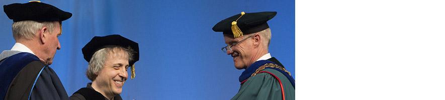 Report photo of President Stenger