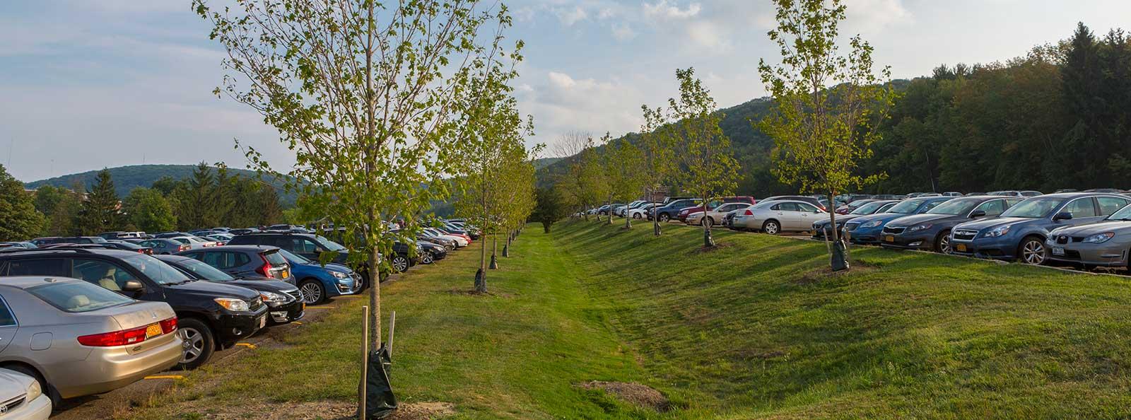 Image Gallery Suny Binghamton Parking